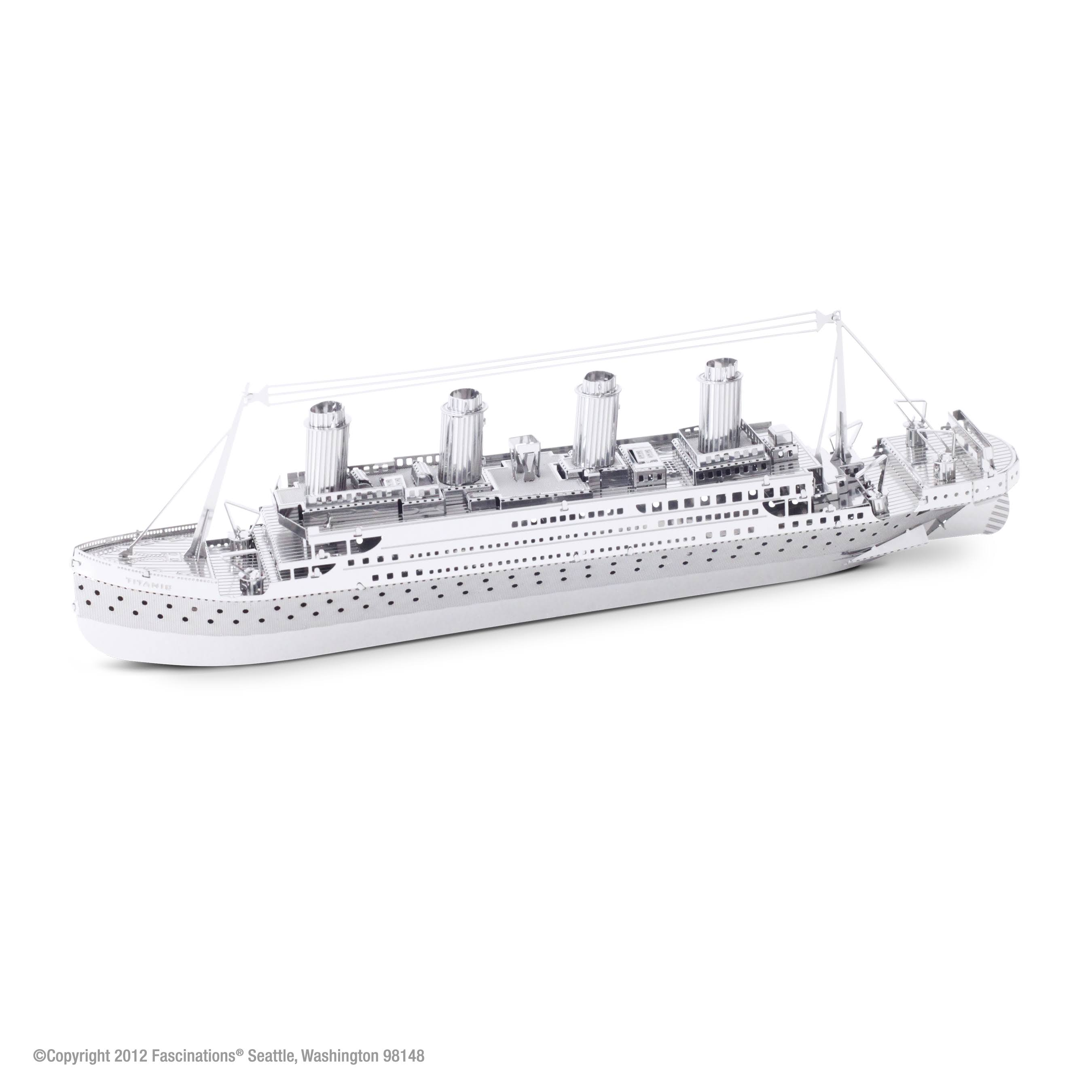 Metal Earth 3D Metal Model Kit - Titanic