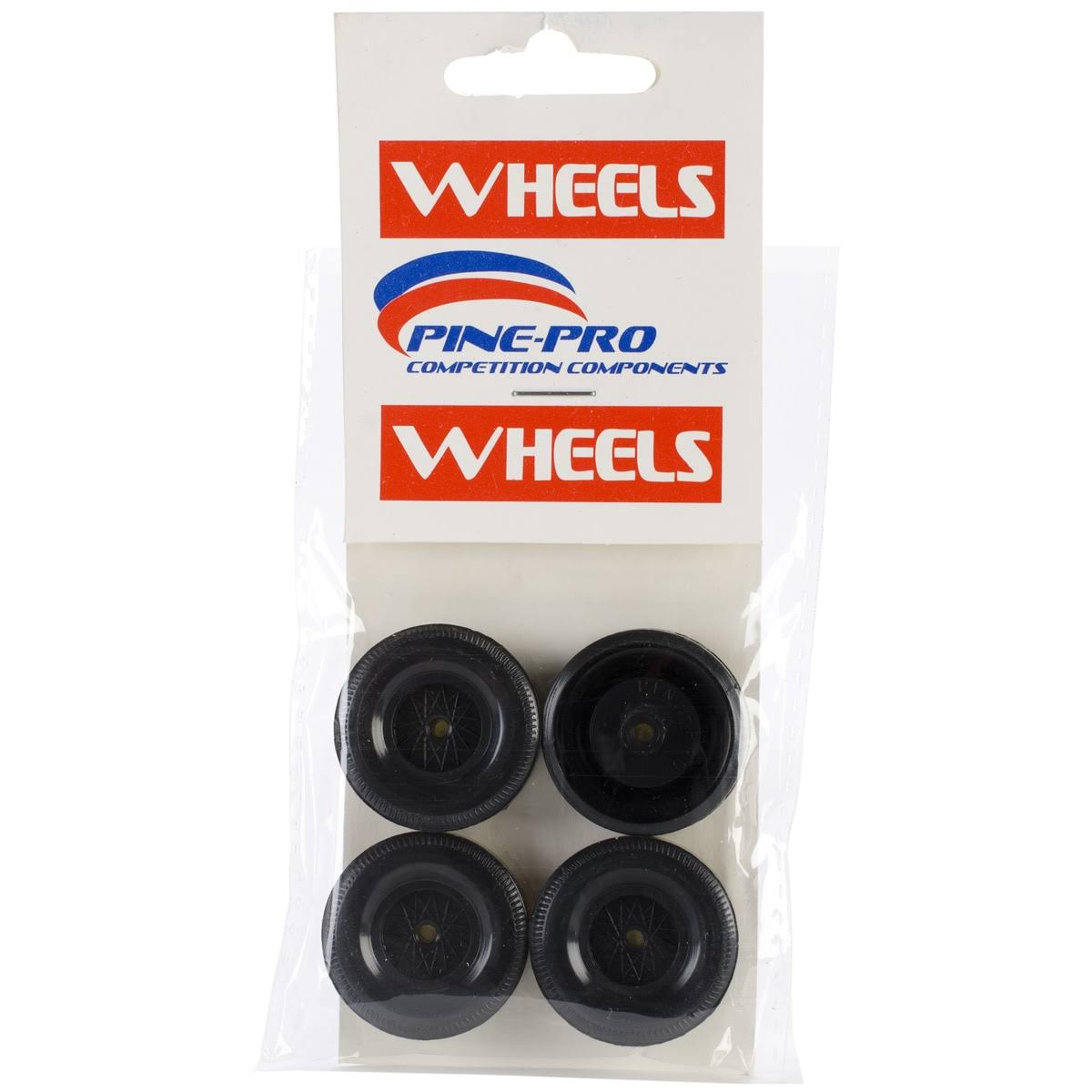 Pinepro Car Derby Wheels - 4 Pack