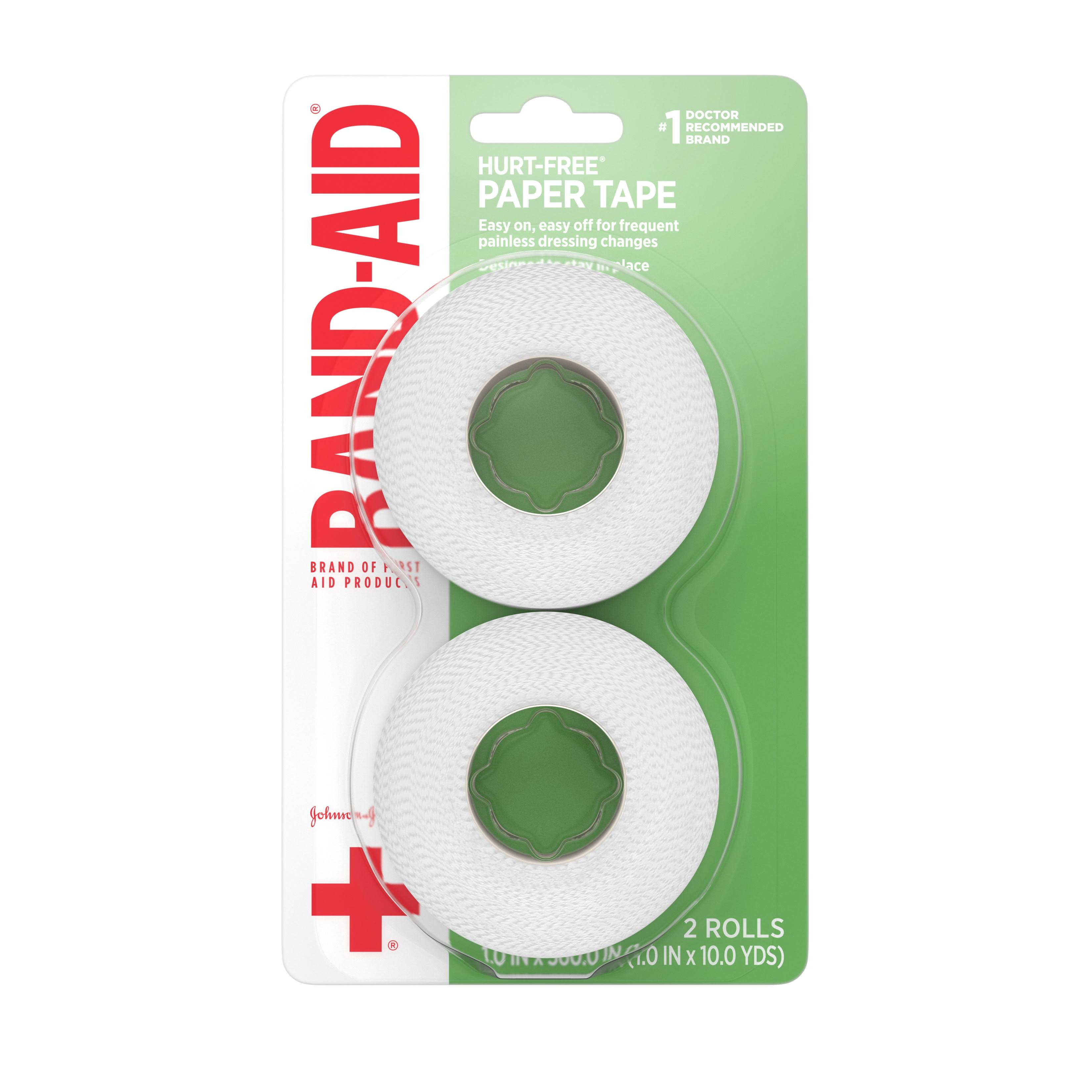 Band-Aid Brand Hurt-Free Paper Tape