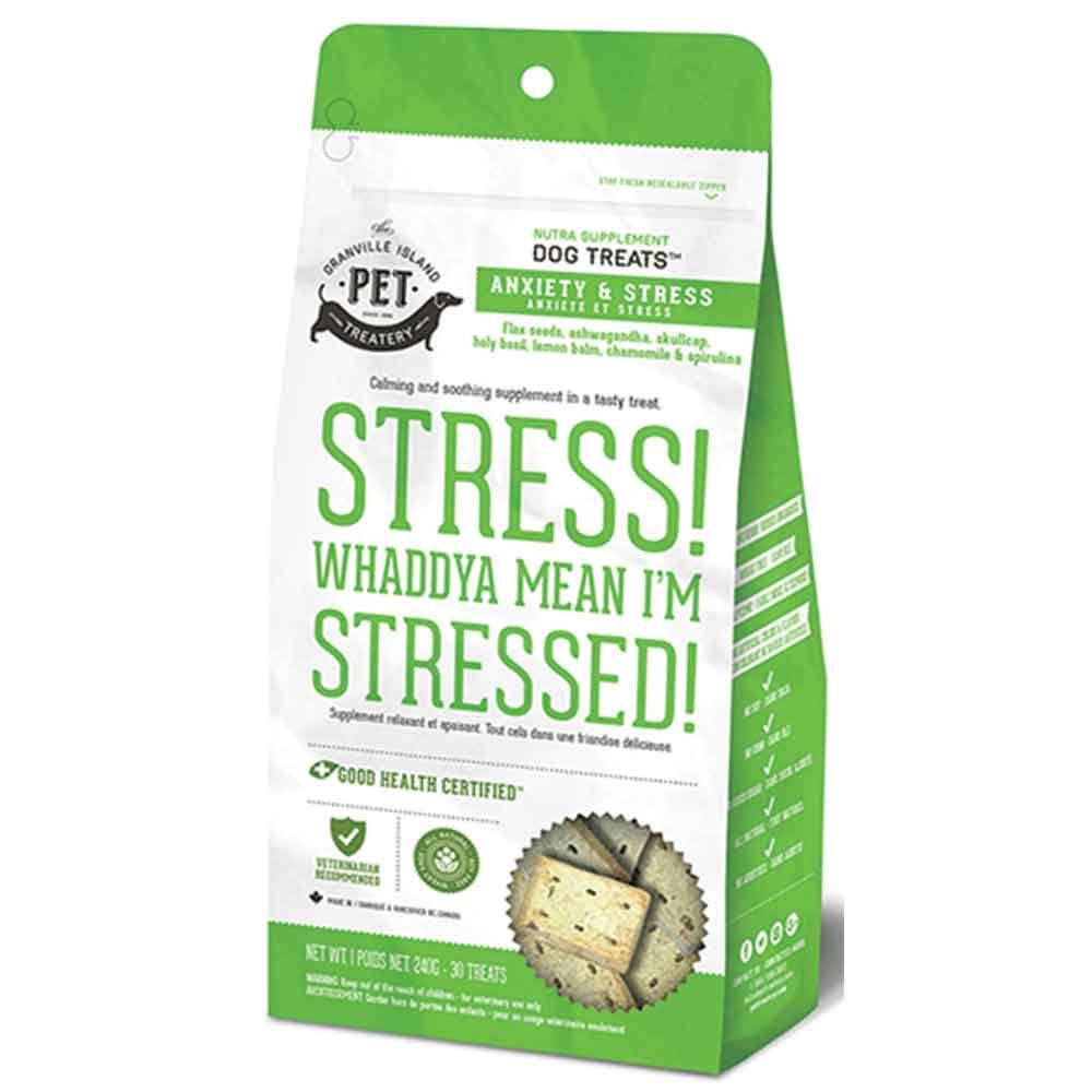 Granville Island Pet Treatery Stress & Anxiety Nutra Supplement Dog Treats