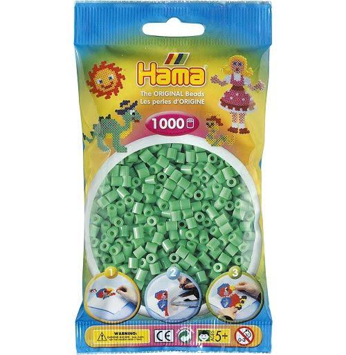 Hama 207-11 1000 Light Green Beads