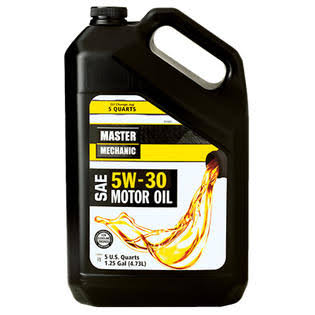 Master Mechanic MM3M055 SAE 5W 30 Motor Oil - 1.25 Gallon