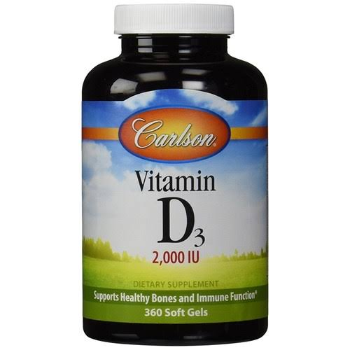 Carlson Vitamin D3 - 360 Softgels