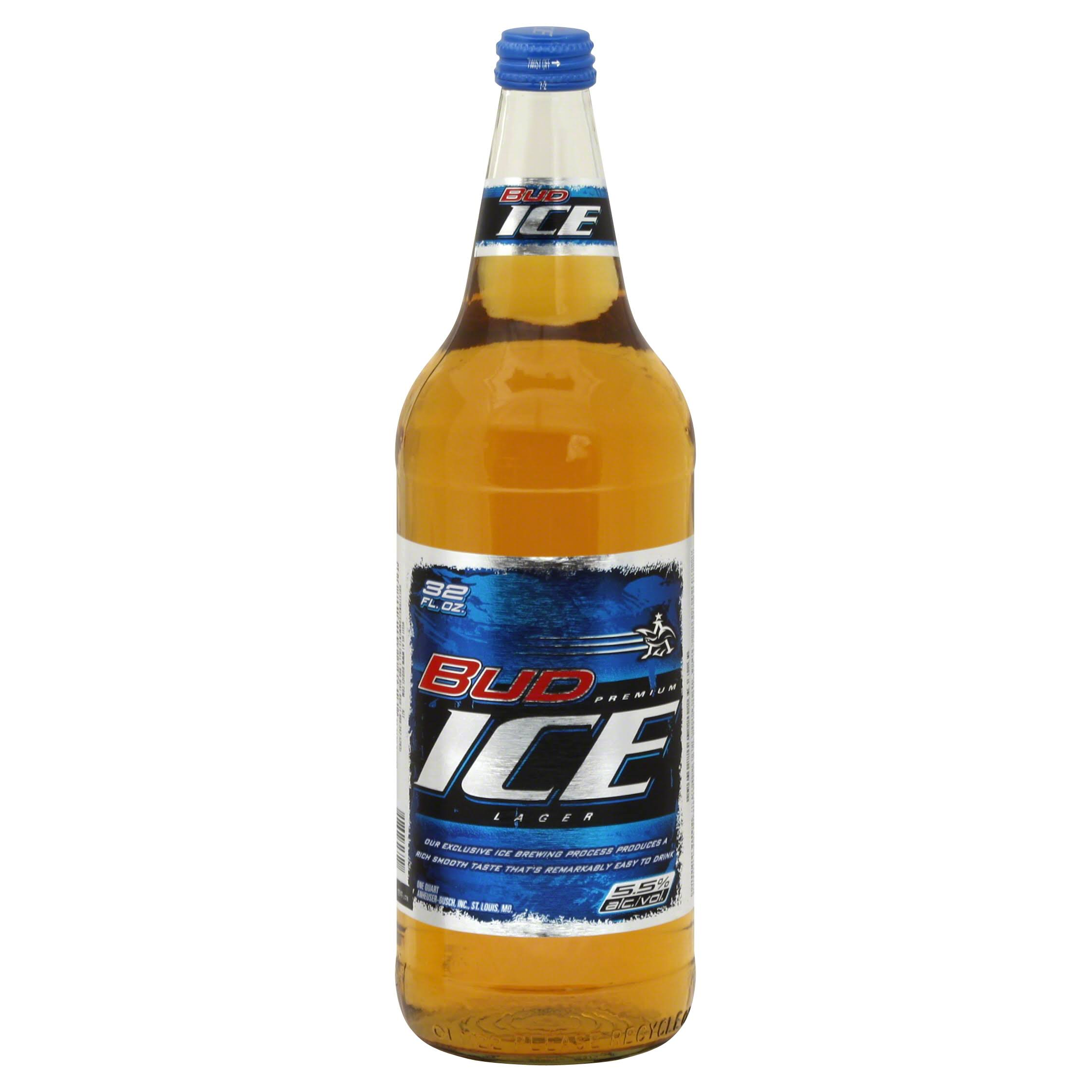 Bud Ice Beer - 32oz