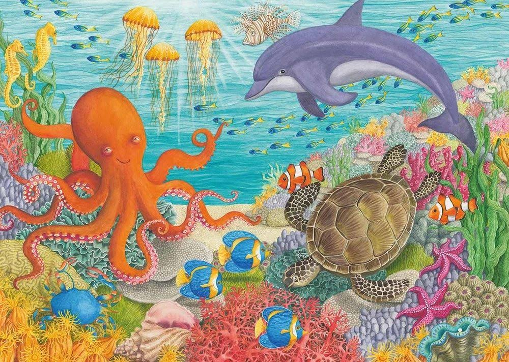 Ravensburger Ocean Friends Jigsaw Puzzle - 35 Pieces