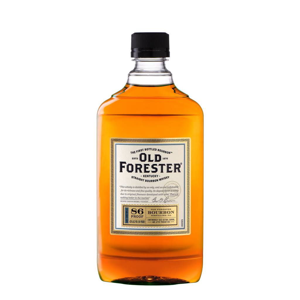 Old Forester Bourbon Whisky, Kentucky Straight - 375 ml