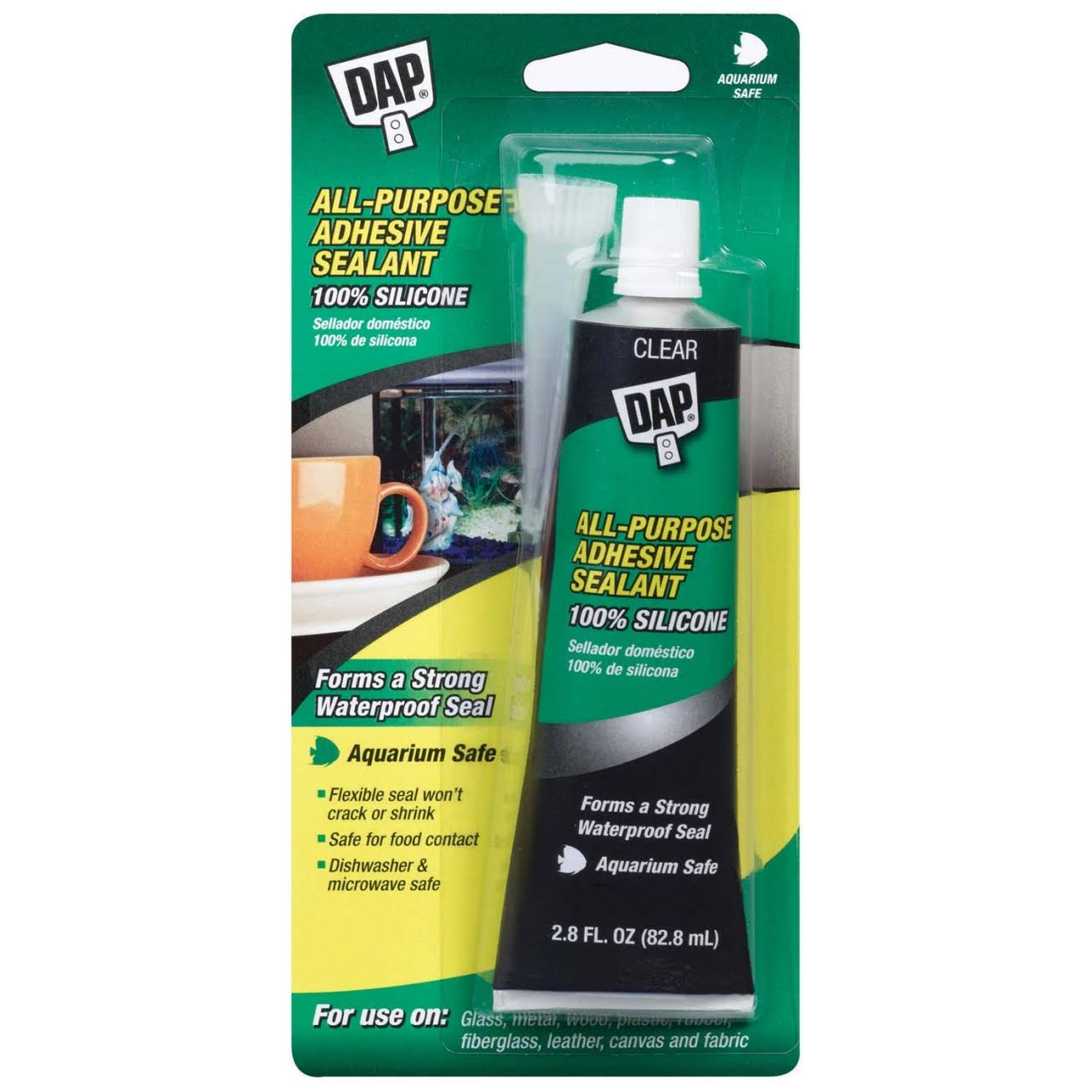Dap Household Waterproof Adhesive Sealant - 2.8oz