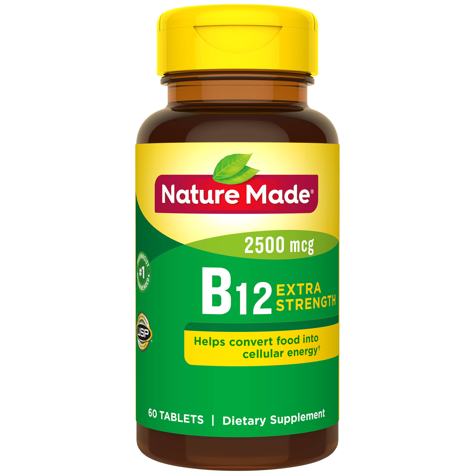 Nature Made Vitamin B-12 2500 mcg