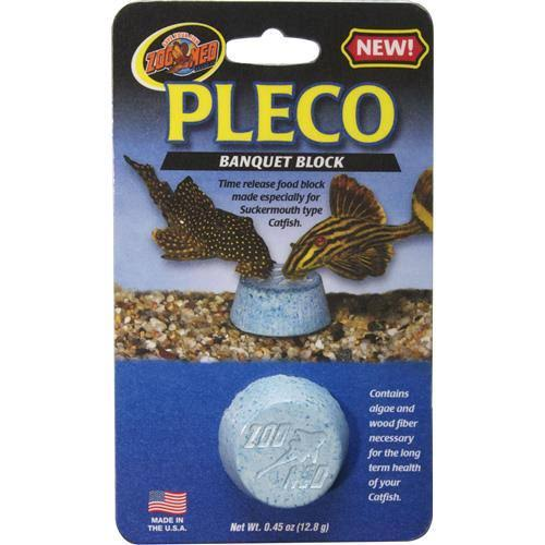Zoo Med Laboratories Pleco Banquet Block Time Release Fish Food