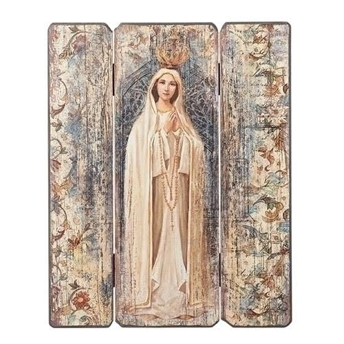 Our Lady of Fatima Wall Panel