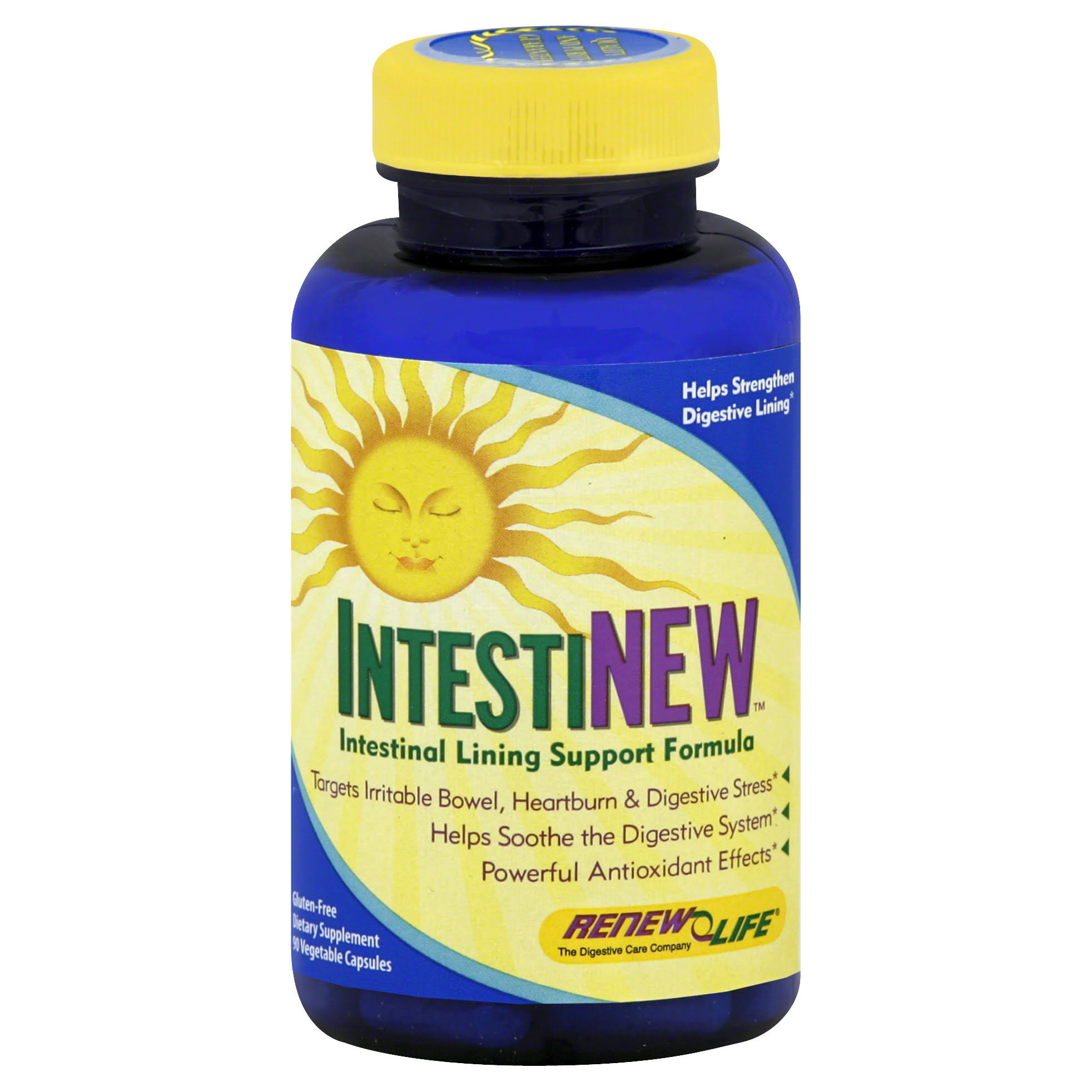 Renew Life Intestinew Intestinal Lining Support Vegetable Capsules - 90ct