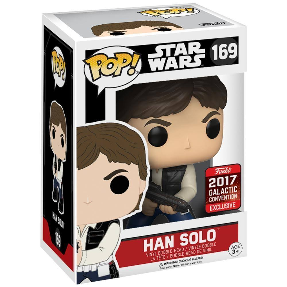 Funko Pop 169 Star Wars Han Solo Bobble Head Figure