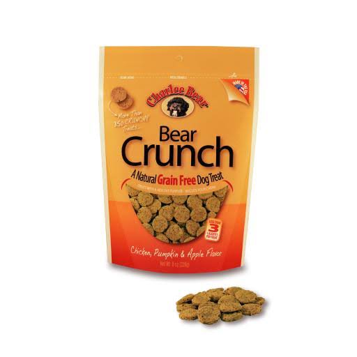 Charlee Bear Grain Free Bear Crunch - Chicken Flavor, 8oz