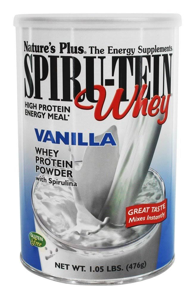 Nature's Plus Spiru-tein High Protein Energy Meal Whey - Vanilla