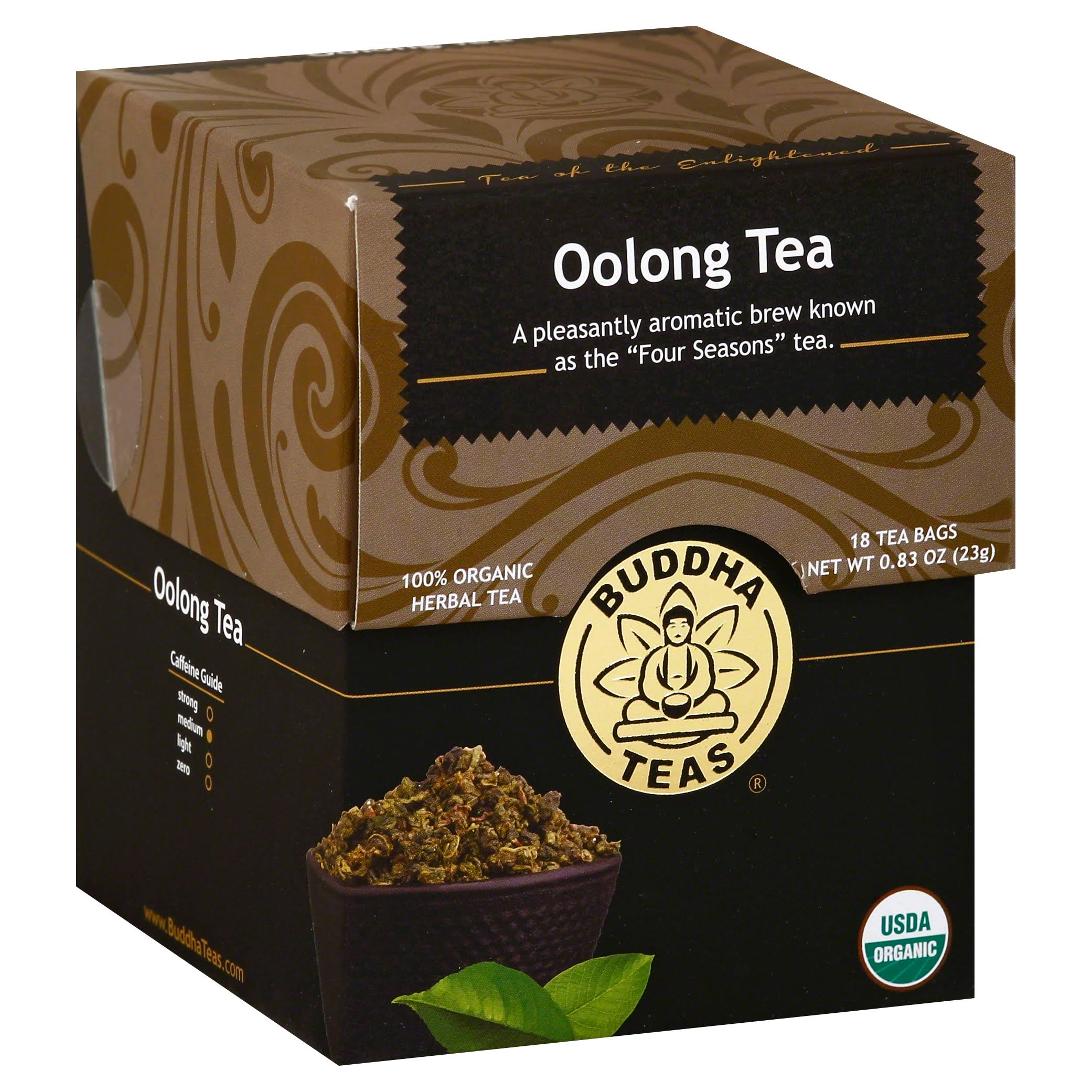 Oolong Tea Buddha Teas Organic Herbal Tea - 18ct