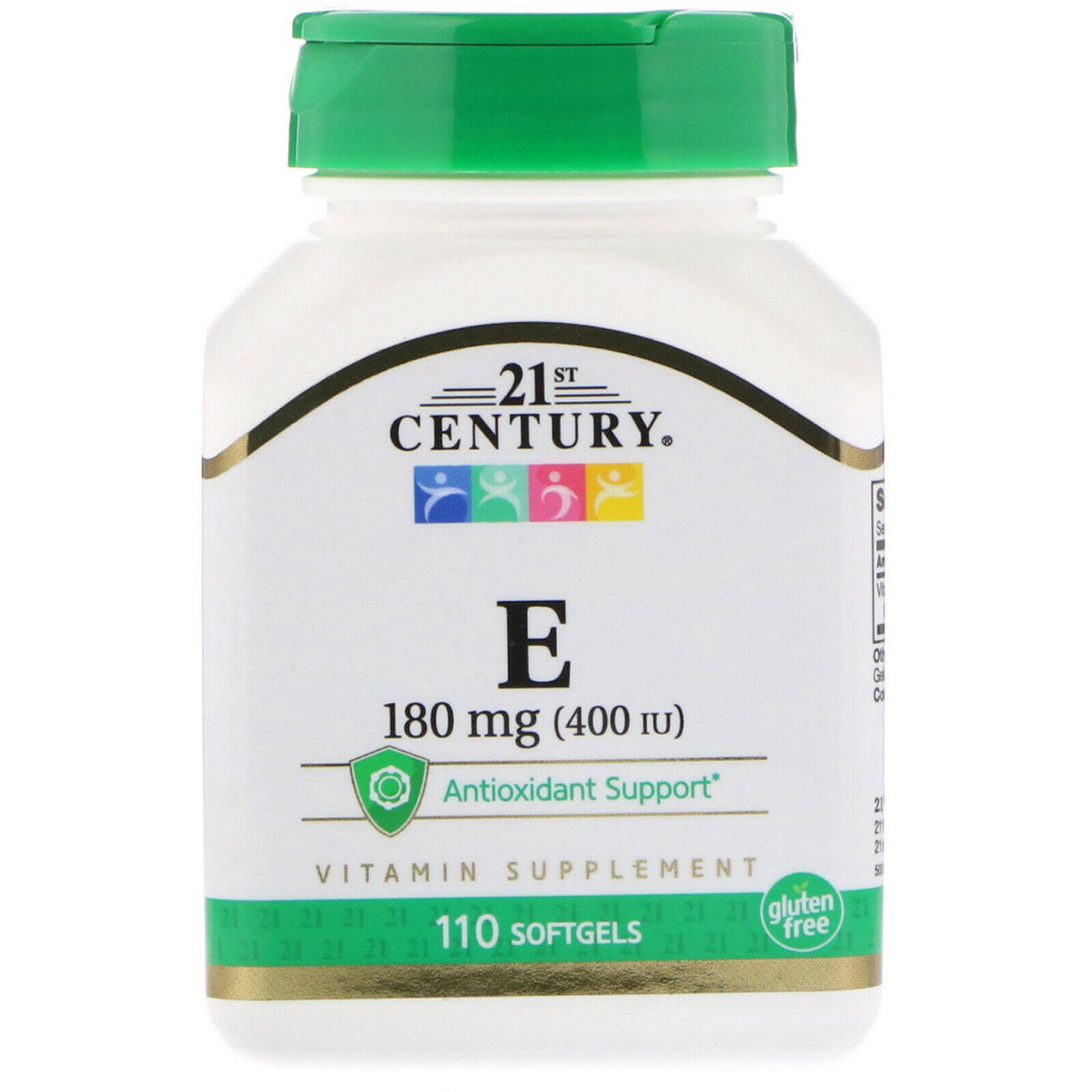 21st Century E 400 Dietary Supplement - 110 Softgels