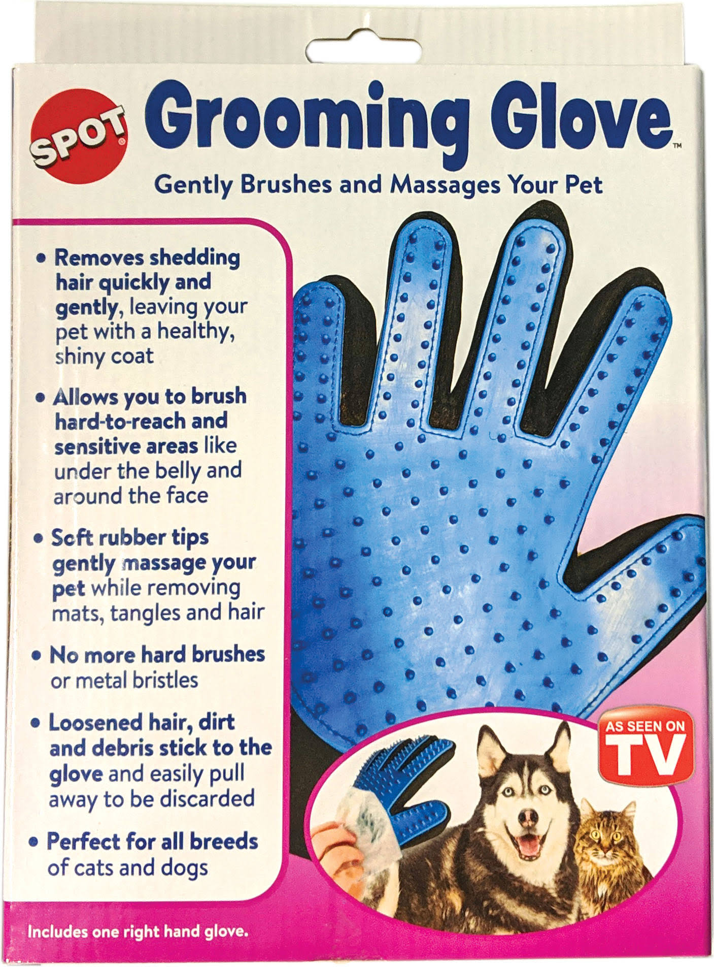 Ethical Pet Grooming Glove