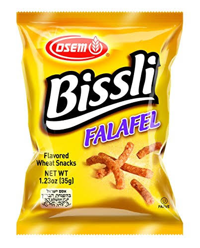 Osem Bissli Falafel Flavor, 1.24 Ounce (Pack of 48)