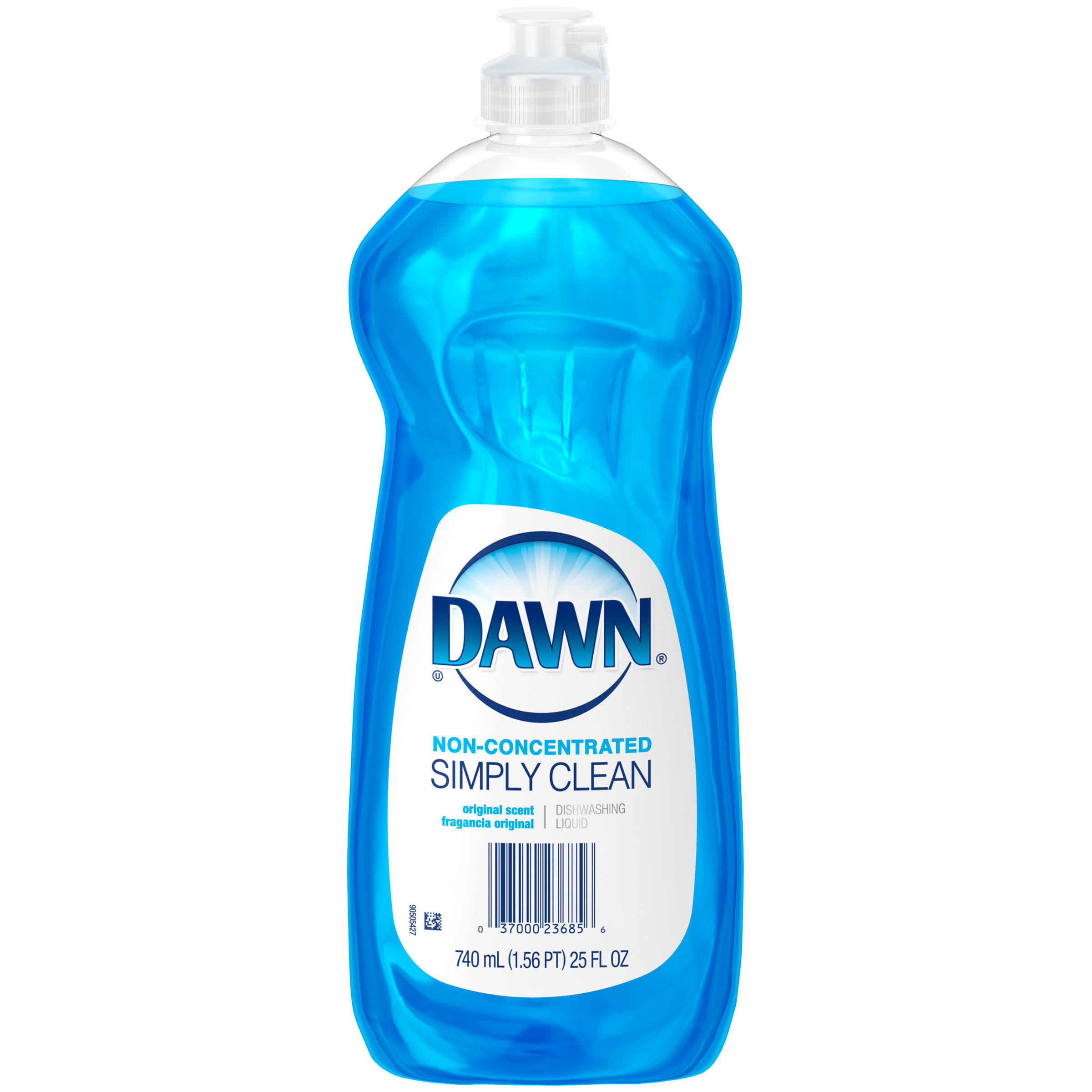 Dawn Original Scent Non Concentrated Dishwashing Liquid - 25oz