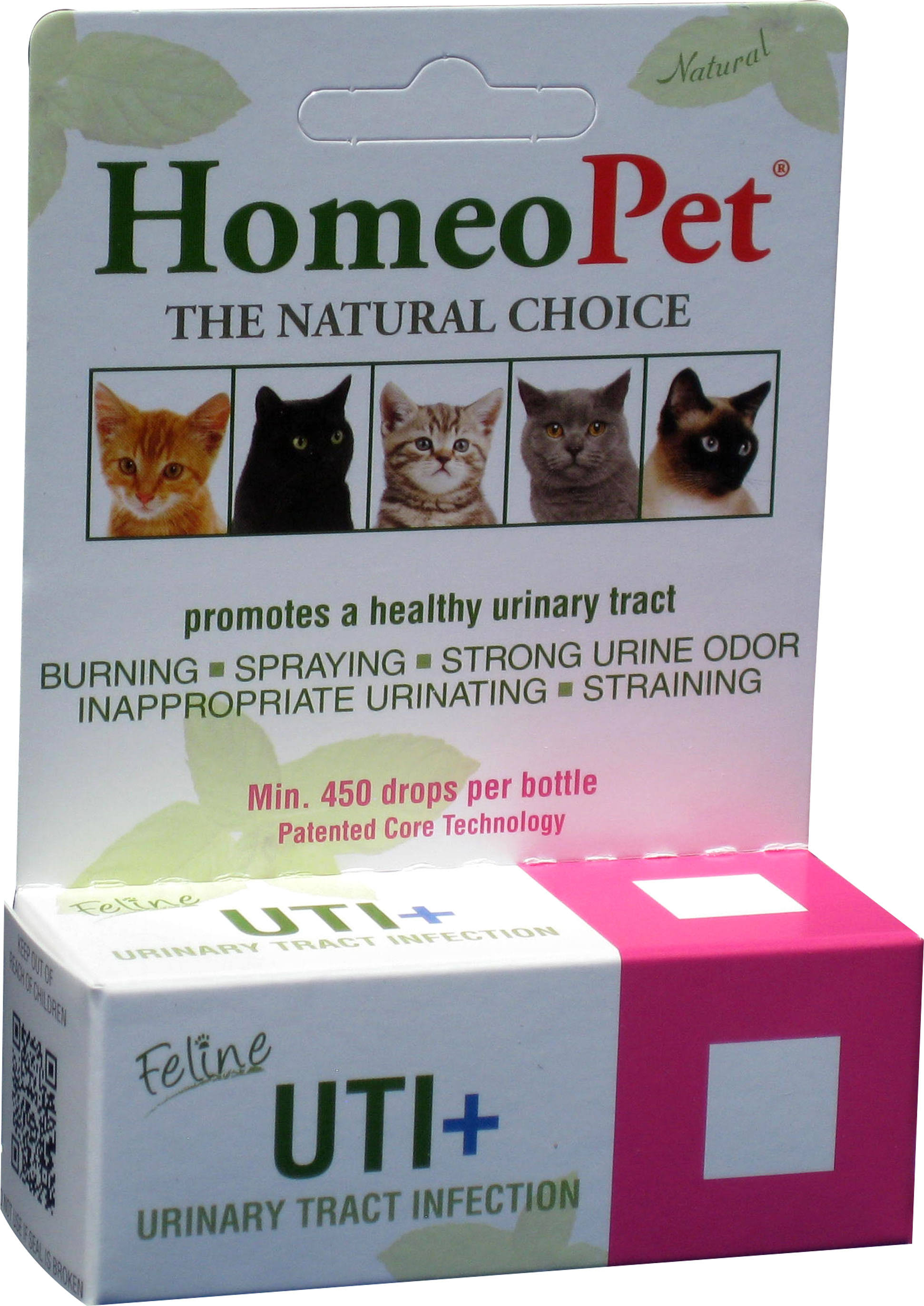Homeopet Feline Urinary Tract Infection Supplement - 15ml
