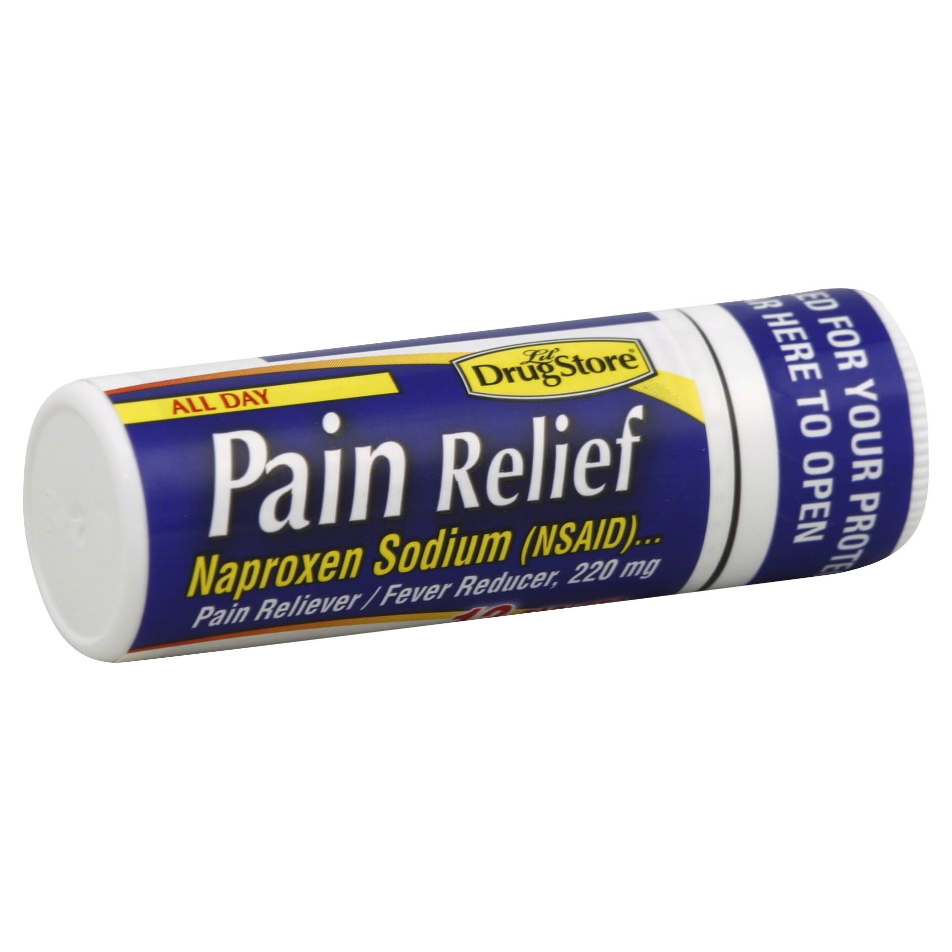 Lil Drug Store Pain Relief, 220 mg, Tablets - 12 tablets