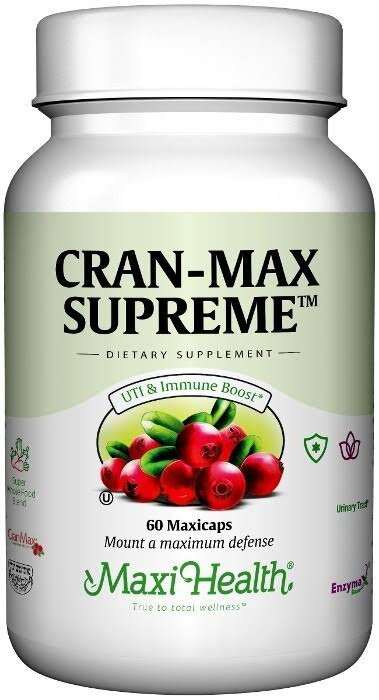 Maxi-Health Cran-Max Supreme Supplement - 60ct