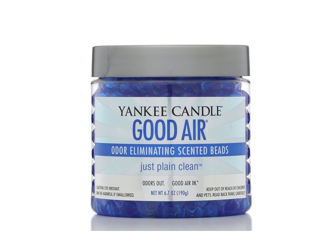 Yankee Candle Good Air Odor Eliminating Beads - Just Plain Clean