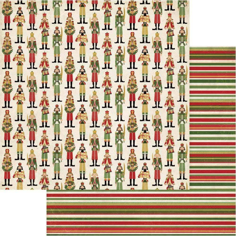 Photo Play Paper Christmas Memories 12x12 Paper- Nutcracker