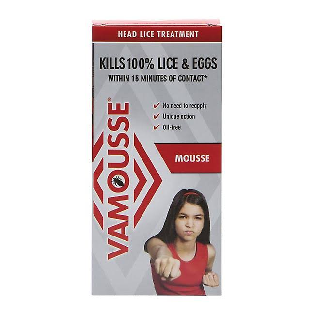 Vamousse Mousse Head Lice Treatment - 160ml