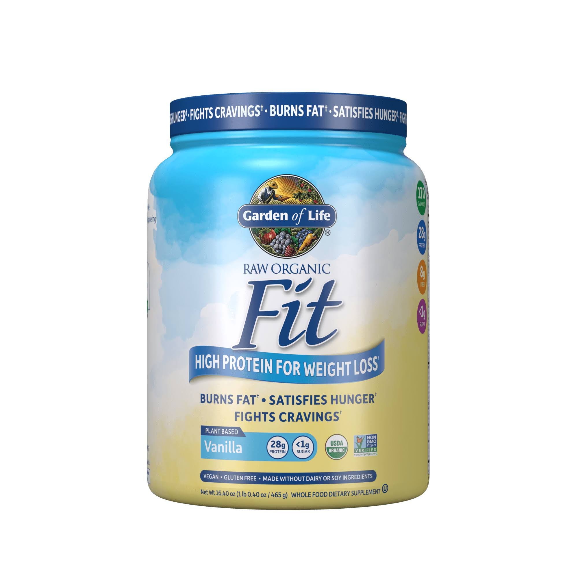 Garden Of Life Raw Fit Protein Powder - Vanilla