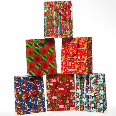 Small Christmas Joy Gift Bags
