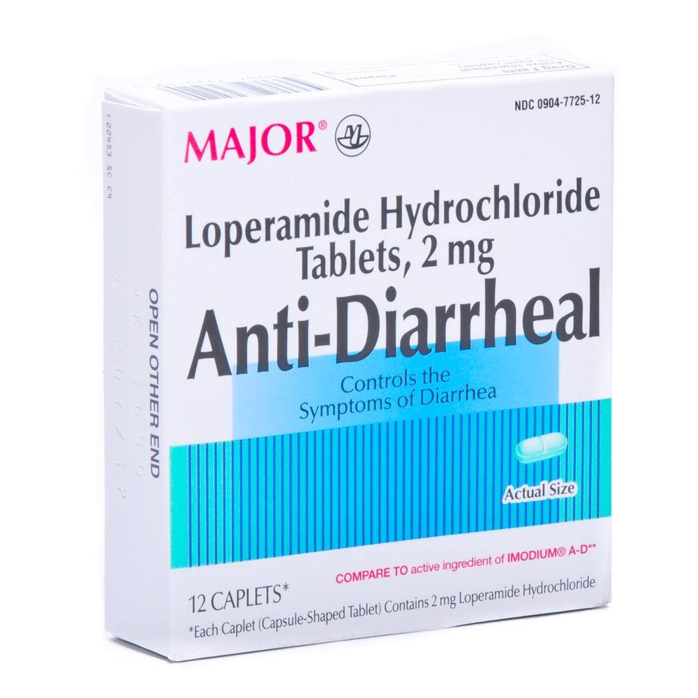 Major Anti-Diarrheal Caplets