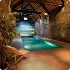 Exotic Swiming Pools Inside The House with Beach Wallpaper ... - Houses With Pools Inside