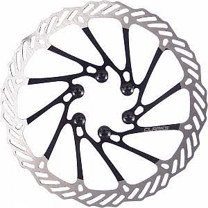 Clarks CL Brake Rotor Disc - 180mm, Silver/Black