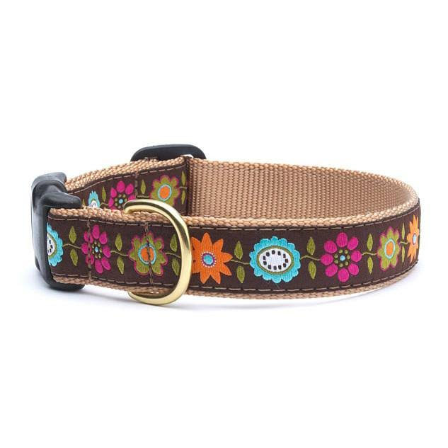 Up Country Bella Floral Dog Collar - X-Small