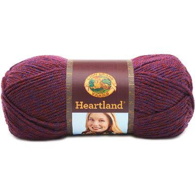 Lion Brand Heartland Yarn - Isle Royale