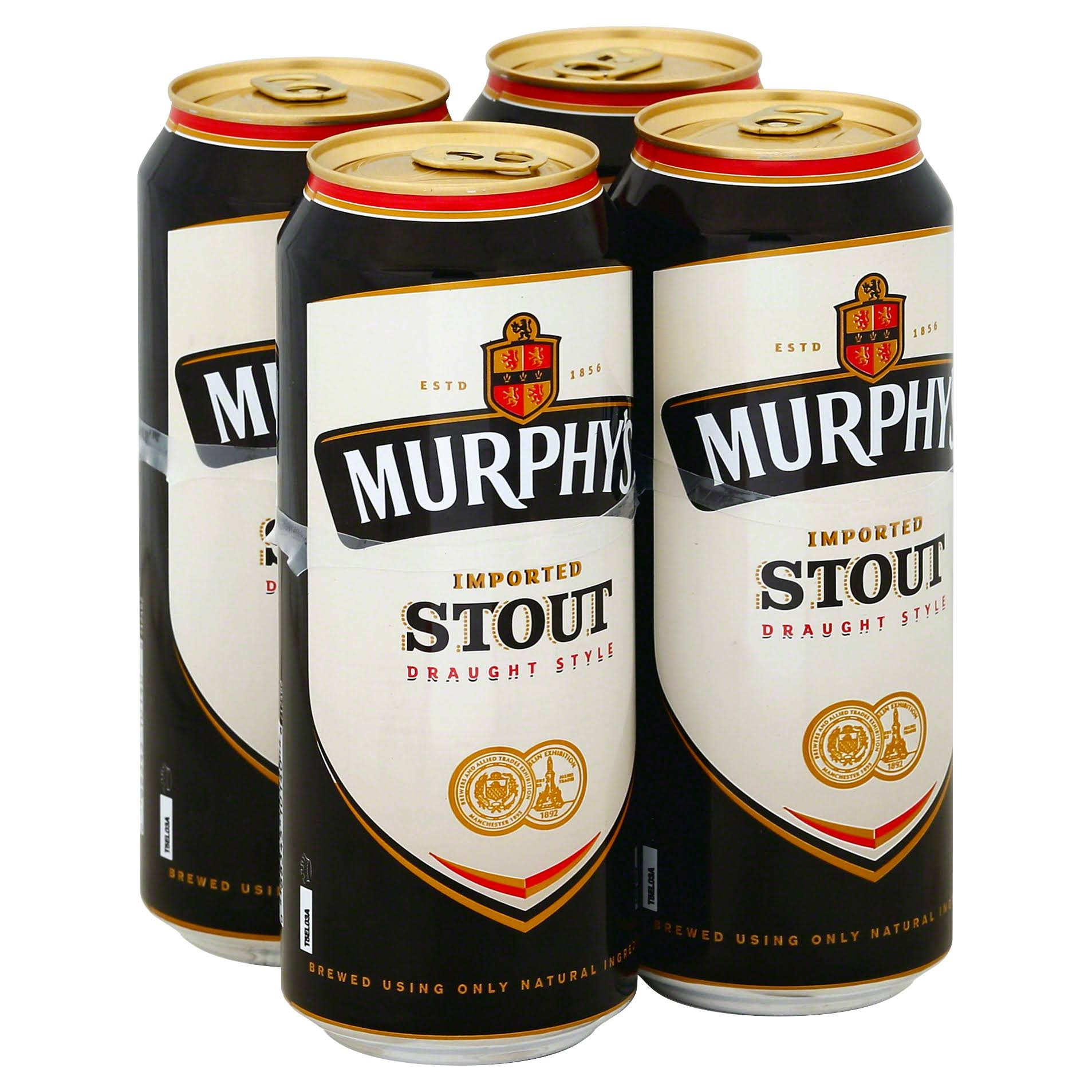 Murphy's Imported Stout Draught Style Beer - 14.9 oz, 4 Pack