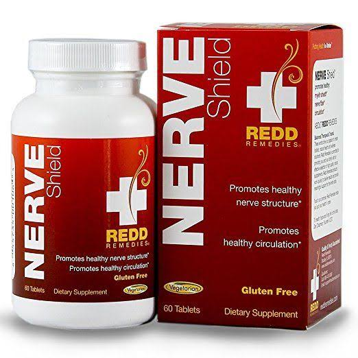 Redd Remedies Nerve Shield Dietary Supplemnt - 60 Tablets