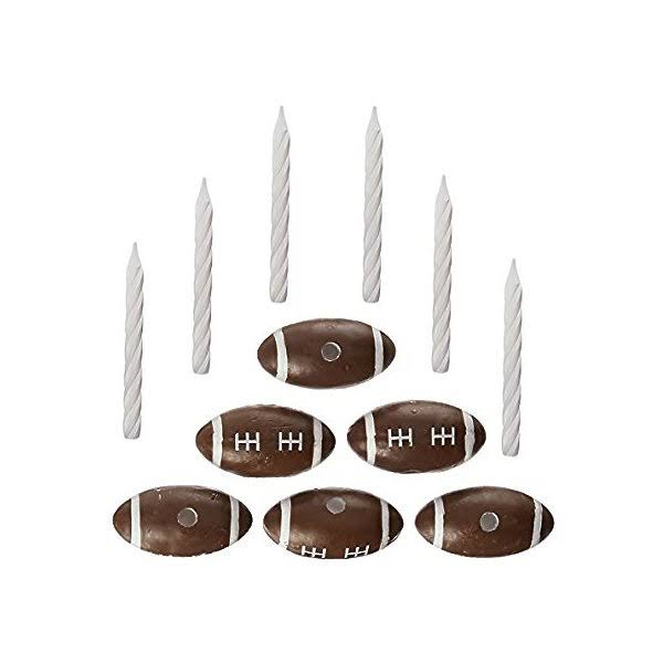 Oasis Football Candle Holder Set