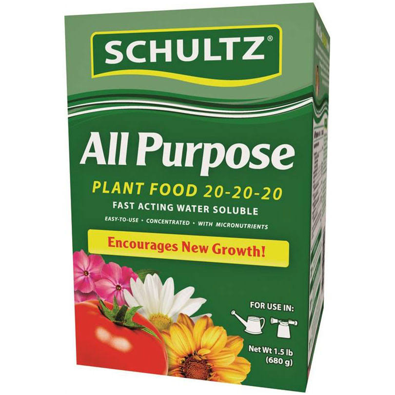 Schultz All Purpose Water Soluble Plant Food Fertilizer - 1.5lbs