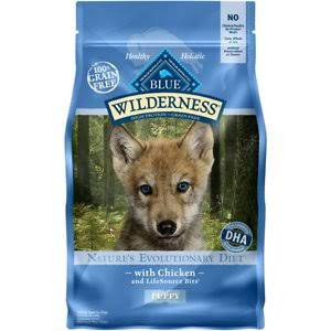 Blue Buffalo Wilderness High Protein Puppy Food - Dry, 4.5lb