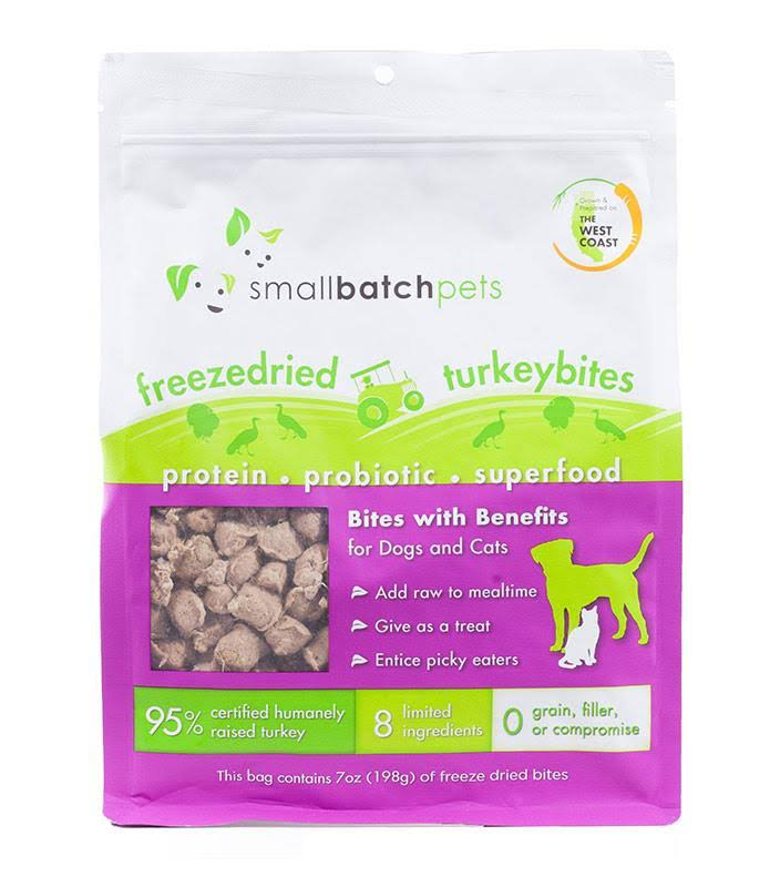 Smallbatch Freeze Dried Bites Dog Treats, Turkey