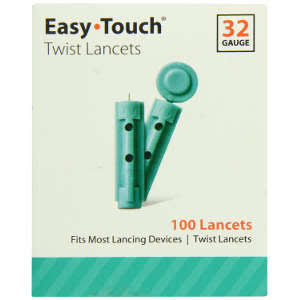 Easy Touch EasyTouch 832101 Twist Lancet - 100ct