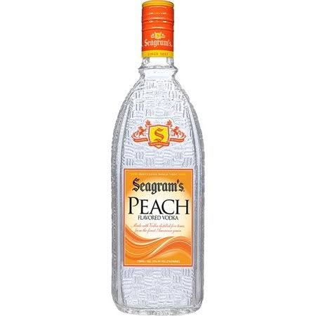 Seagram's Peach Vodka - 750 ml bottle