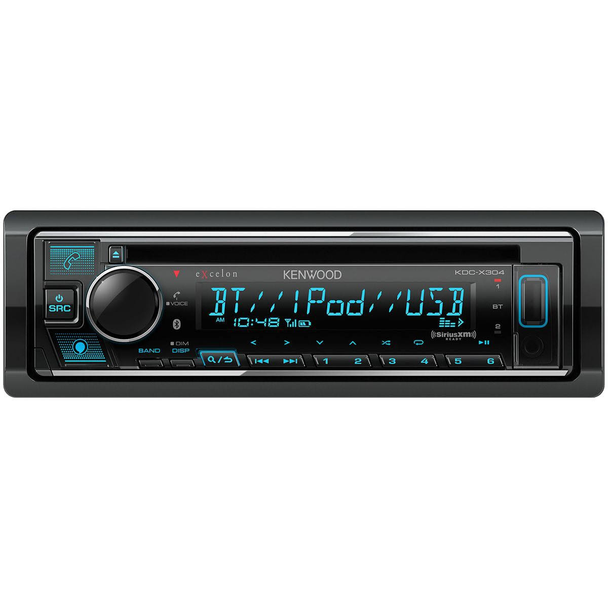 Kenwood Excelon CD Receiver with Bluetooth KDC-X304