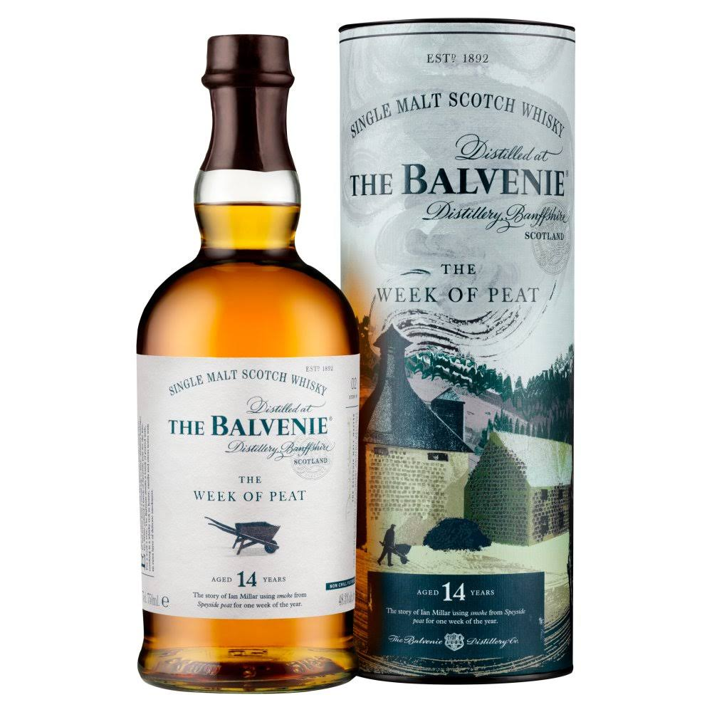 The Balvenie Week of Peat 14 Year Old Single Malt Scotch Whisky - 70cl