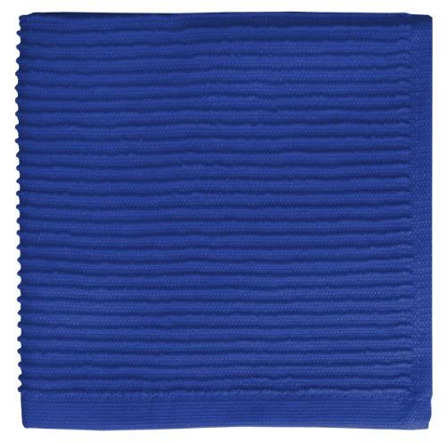 Mukitchen Lake (Blue) Ridged Texture Cotton Dishcloth