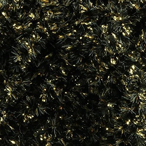 Hareline Speckled Crystal Chenille - Gold-Black