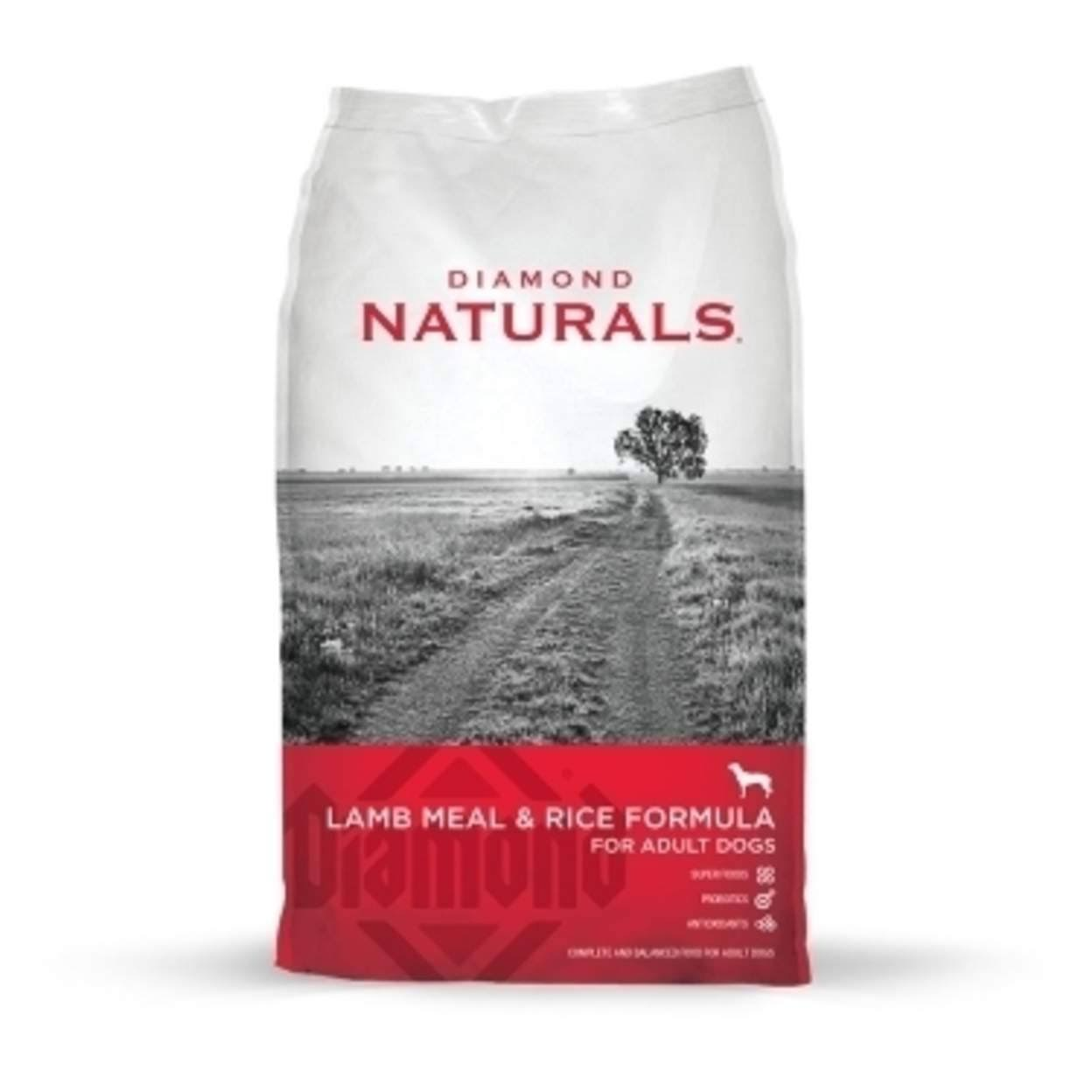 Diamond Naturals Dry Food for Adult Dogs - Lamb and Rice Formula