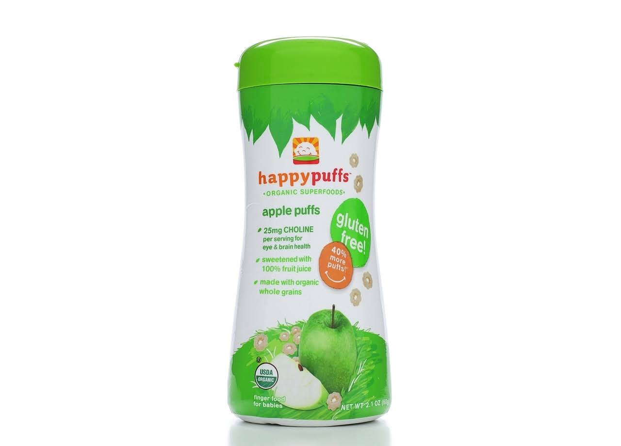 Happy Baby Organic Apple Puffs Snack